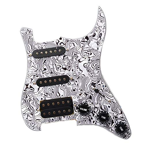 Guitar Parts Multi Finally popular brand Colour Electric Black and Lo Popularity Pickguard