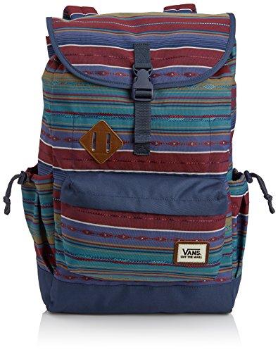 Vans VXUWG0L - Macuto de Senderismo, Color Multicolor (Woven Dobby Stripe), Talla 56 in