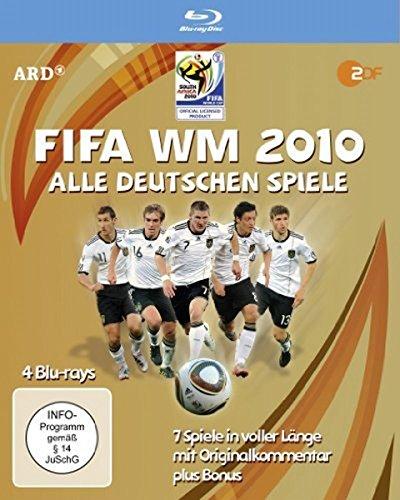 FIFA WM 2010 - Alle deutschen Spiele (4 Blu-ray Box) [Alemania] [Blu-ray]