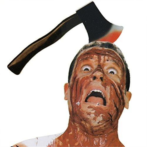 HMILYDYK Halloween Decor Scary Horror Props truco o tratar broma herramienta casa encantada Halloween Decoracin - GUHLW-AXE, Axe