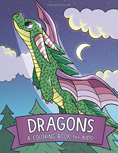 Dragons A Coloring Book for Kids product image
