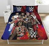 WWE Conjunto de Funda de edredón Super 7, Multicolor, Doble