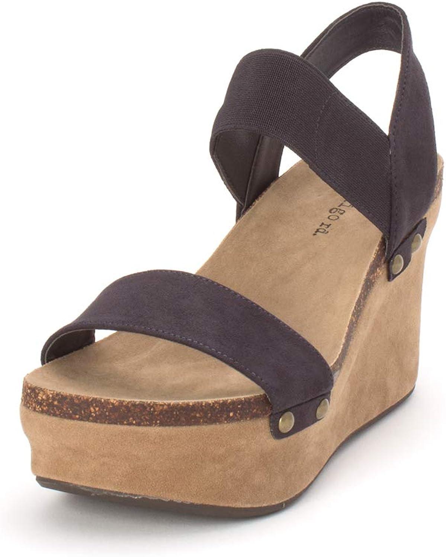 Indigo Rd. Womens Fleur2 Open Toe Casual Platform Sandals