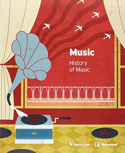 MUSIC HISTORY OF MUSIC 3 ESO - 9788468040240