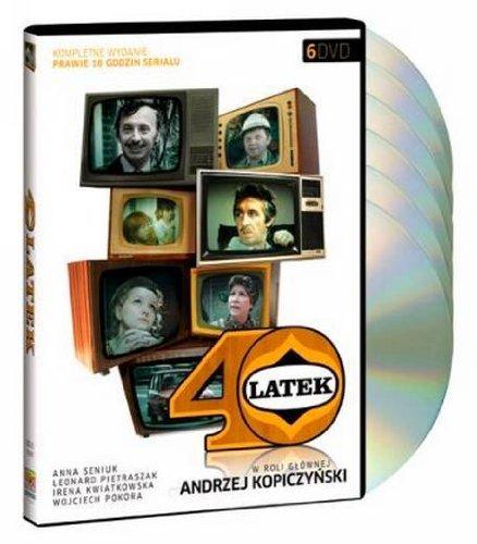 40-latek Czterdziestolatek [BOX] [6DVD] - Serial TVP (REGION ALL) by Andrzej Kopiczynski