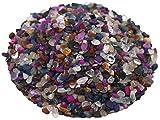 Edelstein Trommelsteine im Mix, 1 kg, micro 0,2 bis 0,7 cm, Trommelsteinmischung Mini extra klein
