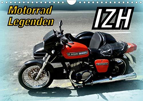 Motorrad-Legenden: IZH (Wandkalender 2021 DIN A4 quer)