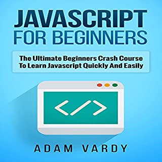 Javascript for Beginners audiobook cover art