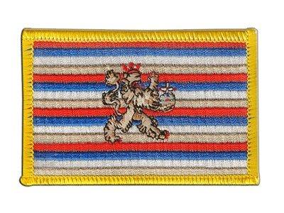 Flaggen Aufnäher Deutschland Kurpfalz 1356-1803 Fahne Patch + gratis Aufkleber, Flaggenfritze®