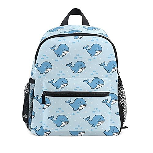 ZHAOMIAO Mochilas escolares para niños, mochila impermeable de tiburón de dibujos animados para estudiantes de primaria, bolsas de libros ortopédicas de gran capacidad, 30 * 25 * 10 cm 01