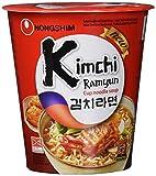 Nong Shim Instantnudeln Kimchi Ramyun – Koreanische Ramen Cup Suppe - schnelle Zubereitung