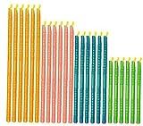 TOPofly Reutilizable del sellador, Clips de Alimentos del sellador de Cocina Accesorios de Almacenamiento (Sticks 24PC) Mantener Bolsas herméticas y estancas Alimentos Frescos