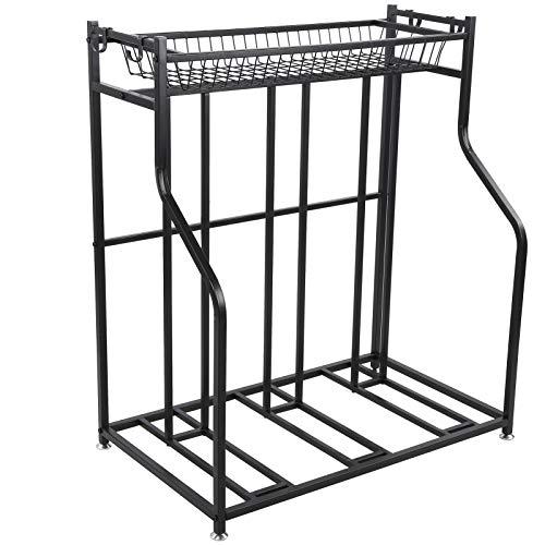 Cikonielf Portabicicletas de suelo para exteriores e interiores – Porta bicicletas de...