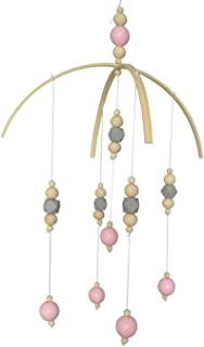 Nordic Style Wooden Beads Wind Chimes Kids Room Baby Bed Hanging Wind Bell Newborn Gifts Nursery Decoration Dreamcatcher H,5