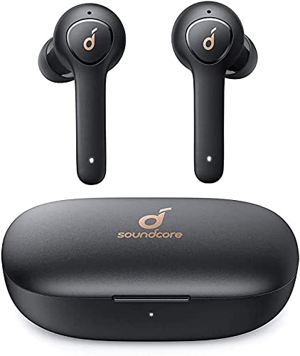 2021 Anker Soundcore Life P2 True Wireless Earbuds with 4 Microphones, cVc 8.0 Noise Reduction, Graphene Driver, outlet sale Clear Sound, USB C, 40H Playtime, IPX7 Waterproof, Wireless Earphones high quality for Work(Renewed) outlet sale
