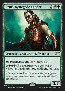 Magic The Gathering - Ezuri, Renegade Leader - Commander 2014
