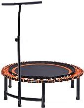 Trampoline Fitness Met Handvat Opvouwbaar Indoor Volwassen Mini Bungee Bed, Lean Aerobic Oefening Uitsmijter Gevoerde Fram...