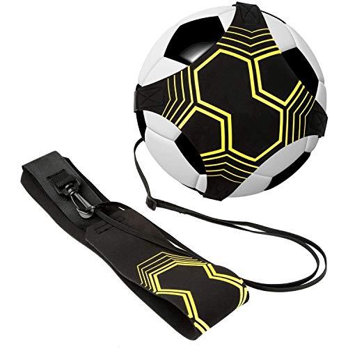 Fútbol Trainer, Shands Ayuda para Entrenamiento de práctica Individual con cinturón y Cuerda elástica, Mejorar Las Habilidades de fútbol, Apto para Pelotas de tamaño #3#4#5