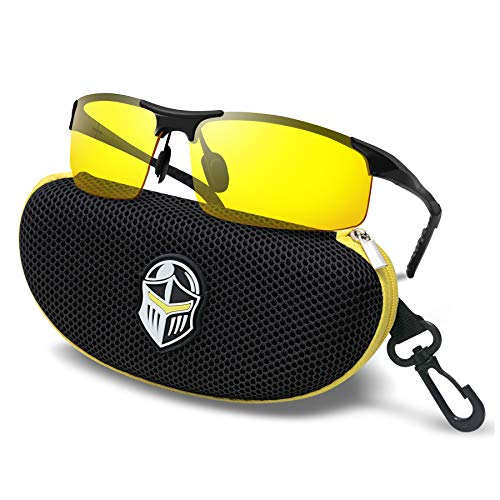 Knight Visor (Black Yellow)