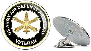 U.S. Army Veteran Air Defense Artillery Metal 0.75
