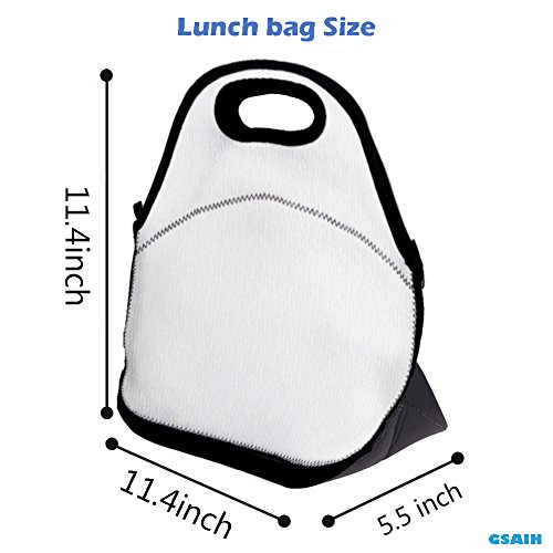 GSAIH Love Is All You Need Beatles Insulated Lunch Box Tote Bag With Shoulder Strap By Bouble, Perfect For Women, Men & Kids