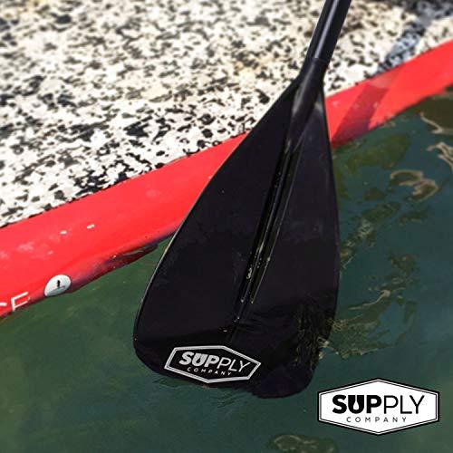 Alloy SUP Paddle - 3 Piece Adjustable Stand Up Paddle Board Paddles - Floating Paddleboard Paddle with Aluminum Shaft & Nylon Blade - Adventurer Paddleboarding Series