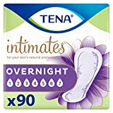 TENA Intimates Overnight Absorbency Incontinence/Bladder Control Pad with Lie Down Protect...
