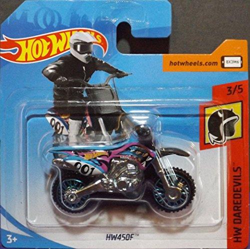 Hot Wheels 2018 HW450F Motorbike 3/5 HW Daredevils 2018 (Short Card)
