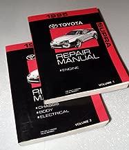 1995 Toyota Supra Repair Manuals (JZA80 Series, 2 Volume Set)