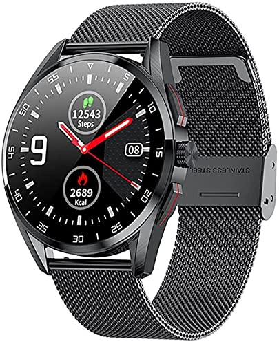 wyingj Reloj Inteligente Bluetooth IP68 Impermeable Reproductor De Música Hombre Y Femenino Reloj De Fitness Reloj Inteligente Mujer F