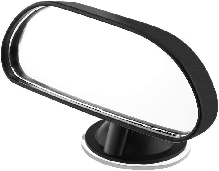 Baby Rear View Mirror, 1Pc Adjustable Car Baby Child Back Seat Rear View Safety Mirror with Suction Cup Black