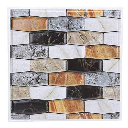 10 Uds adhesivo autoadhesivo para azulejos papel pintado anticolisión para sala de estar decoración del hogar suministros para tratamientos de pared