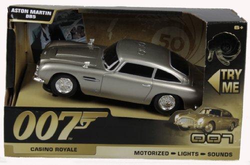Toy State 62012 - James Bond - 007 - Aston Martin DB5 mit Licht, Sound und Fahrfunktion