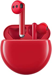 Huawei FreeBuds 3 Wireless Earphones with Noise Cancellation - Red