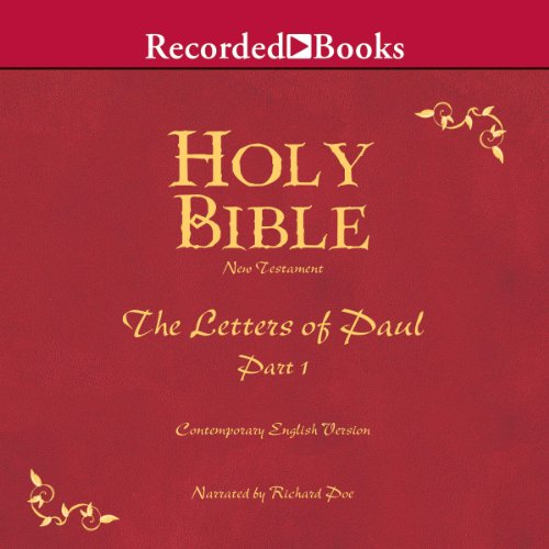 Holy Bible: Letters of Paul - Part 1, Volume 27 audiobook cover art