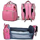 Cambiador para Cuna Portatil para Bolsa De Momia Diaper Bag Backpack For Mom Mochila Multifuncional para Bebé