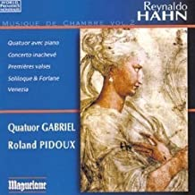 Hahn: Musique De Chambre, Vol. 2 by Pidoux (2013-05-28)