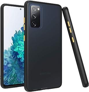 Puxicu Moto G8 Plus Case,Motorola G8 Plus Case, Military Grade Protective Phone Matte Case with Ring Car Mount Kickstand f...
