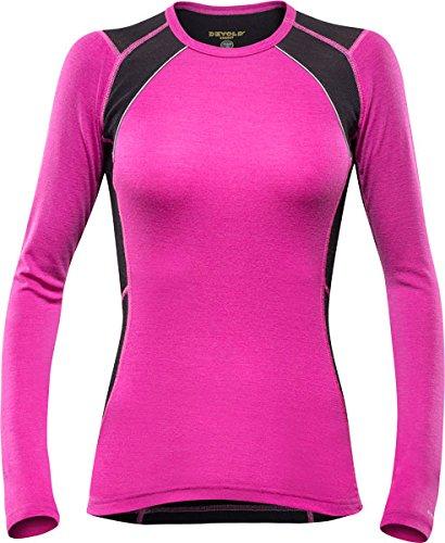 Devold Energy t-Shirt pour Femme XL Violet - Fuchsia