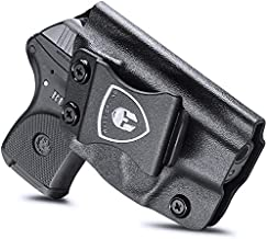 Ruger LCP 380 Holster, IWB Kydex Holster Fit: Ruger LCP 380, Inside Waistband, Ruger LCP 380 Holster Concealed Carry for Men / Women, Adjustable Cant / Retention, Right Hand Draw