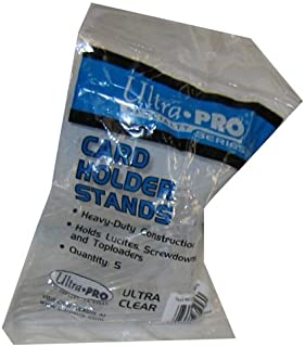 【ウルトラプロ UltraPro 収集用品】 カードスタンド (小) 5個入り (#81256)
