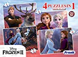 Frank Frozen 2 4 Puzzles in 1