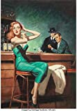 HARRY BARTON The Squeeze 1955 Pin Up Girl p5176 A2 Canvas - Art Painting Deco...