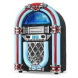 Victrola Jukebox de madera nostálgica con Bluetooth incorporado...