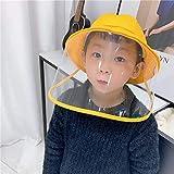HANIストア ハット 子供 飛沫 ウイルス 防止 帽子 UVカット 折りたたみ つば広い 男女兼用 バケットハット ぼうしuvーカットウビ