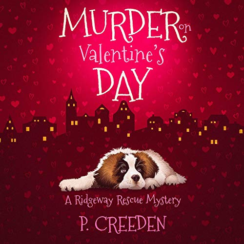 Murder on Valentine's Day audiobook cover art