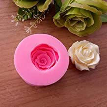 Cake Molds - Rose Flower Silicone Mold Candy Chocolate Cake Baking Tools Molds Kitchen Accessories Decoration DIY Bakeware...