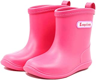 Babys Rain Boots Girl's Waterproof Shoes (1-6 years)