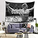 MOONSOON Arnold Schwarzenegger Conquer Boutique Tapestry Wall Hanging Tapestry Vintage Tapestry Wall Tapestry Micro Fiber Peach Home Decor 60x80inch