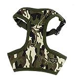 DealMux Dog Pet libertação fivela Camuflagem Imprimir Harness Vest, Médio, Exército Verde